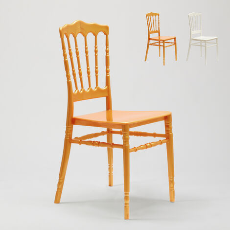 Polypropylene Chair for Kitchen Garden Bar and Restaurant NAPOLEON III