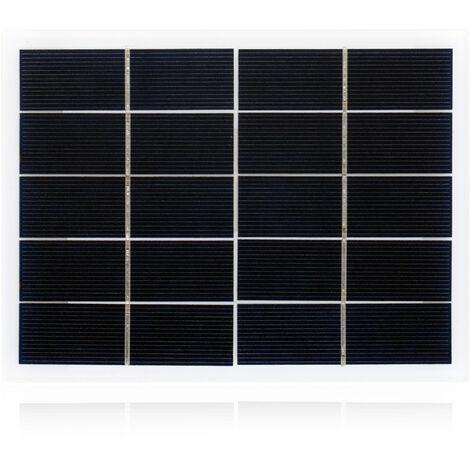 Polysilicon solar laminate, 3W, 5V