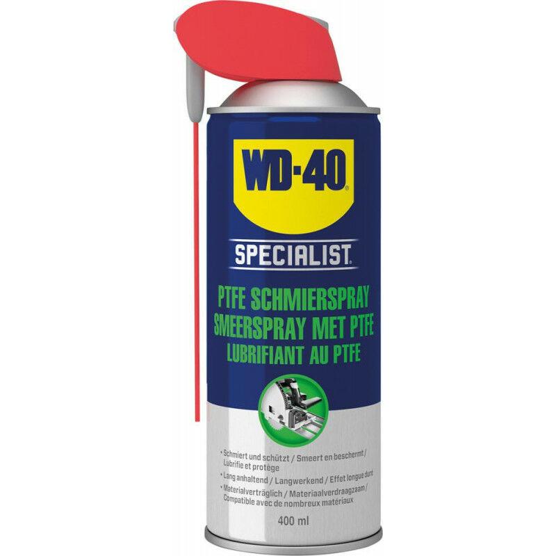 Polytétrafluoroéthylène Lubrifiant Spray Specialist Smart Straw Aerosol 400ml WD-40