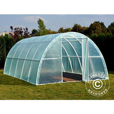 Polytunnel Greenhouse 140, 3x6x1.9 m, 18 m², Transparent