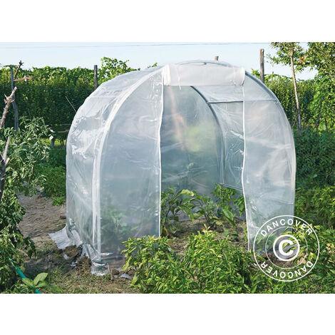 Polytunnel greenhouse 2x1.5x1.75 m, 3 m², PVC, Transparent