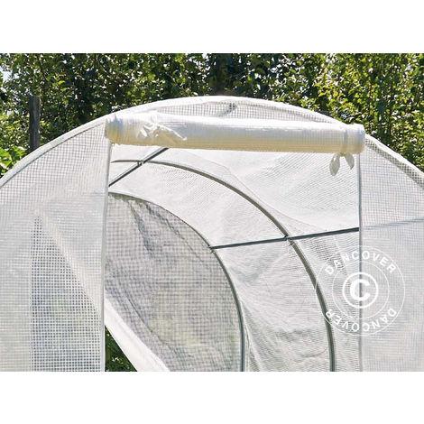 Polytunnel greenhouse 2x3x1.75 m, 6 m², PE, Transparent