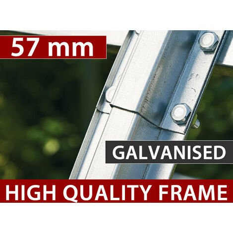 Polytunnel greenhouse 2x3x1.75 m, 6 m², PVC, Transparent
