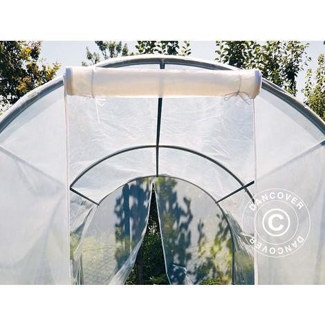 Polytunnel greenhouse 2x4.5x1.75 m, 9 m², PVC, Transparent