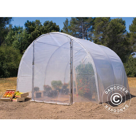 Polytunnel Greenhouse 3x4.5x2 m, 13.5 m², Transparent