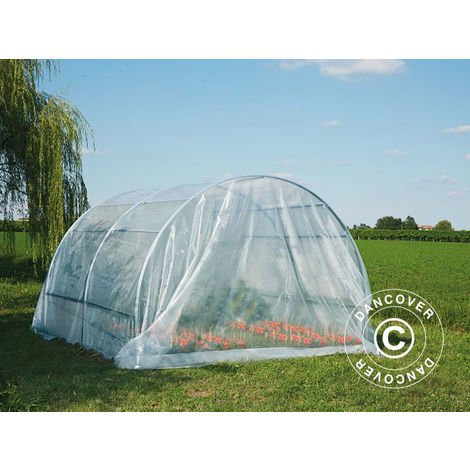 Polytunnel greenhouse 3x6x2 m, 18 m², Transparent