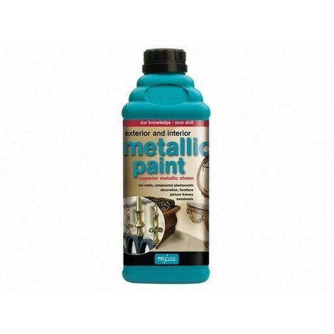 Polyvine Acrylic Metallic Paint 50ml / 500ml / 1 Litre / 4 Litre ALL SIZES