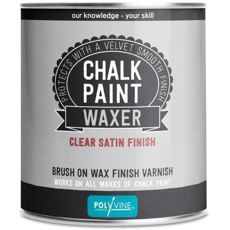 "main image of ""Polyvine chalk paint waxer - Dead flat, Satin 500ML"""
