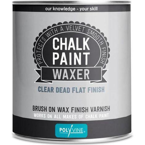Polyvine chalk paint waxer - Dead flat, Satin 500ML
