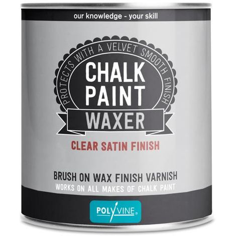 Polyvine chalk paint waxer - Dead flat, Satin 500ML