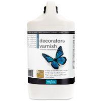 Polyvine - Decorators Varnish - Dead Flat - 4 LITRE