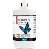 Polyvine - Decorators Varnish - Satin - 4 LITRE