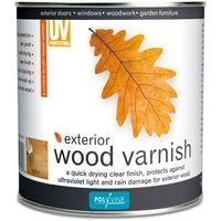 Polyvine - Exterior Wood Varnish Satin - 1 LITRE