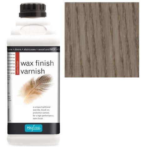Polyvine - Wax Finish Varnish - Taupe - 500ML