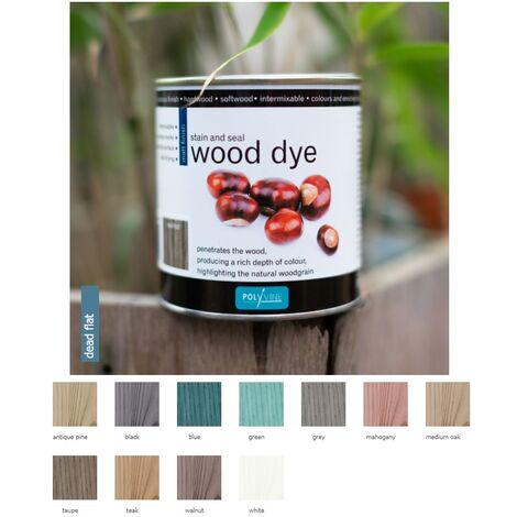 Polyvine Wood Colour For Hardwood And Softwood All Colours Stocked 500ml
