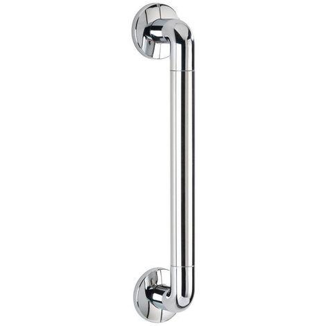 Pomo sala de baño Secura 43 cm, cromado/plata