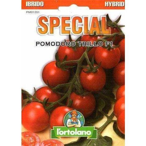 Pomodoro Strillo Ciliegino Ibrido in Semi - L'Ortolano