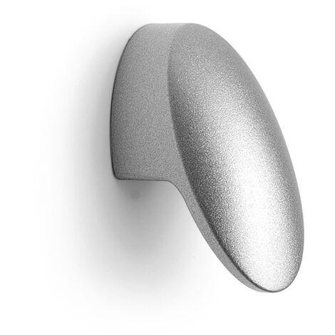Pomolo effetto alluminio 36x18x22m - 019 Elisse