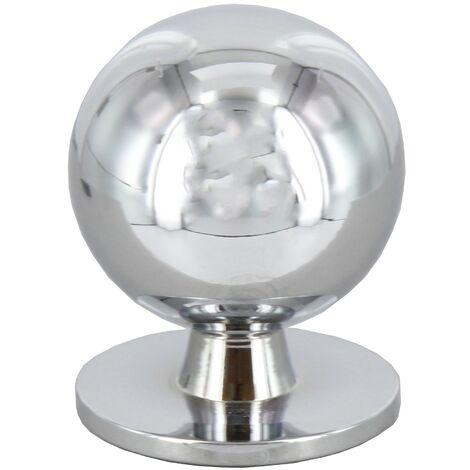 Pomolo pomello per mobili cromo lucido 15 mm 25 pezzi art. P2172.003 Cafim