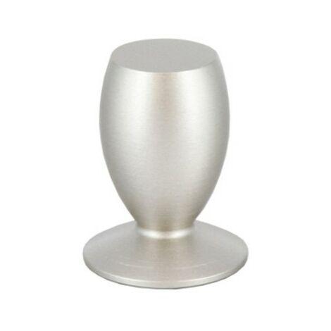 Pomolo pomello per mobili cromo satinato 18 mm 25 pezzi art. 2439.007 Cafim