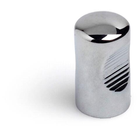 Pomolo, Zama, Cromato Lucido, 14 mm di diametro. Marchio REI