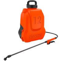Pompa A Zaino Elettrica 12 Lt LI-ION 5 bar- Stocker