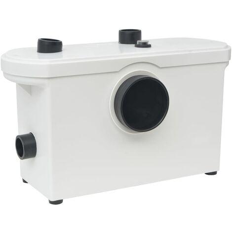 Pompa con Trituratore per Scarichi Bianca 600 W