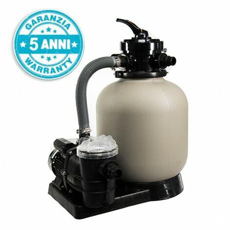 "main image of ""Pompa filtro a sabbia piscina San Marco Titanium 7m3/h"""