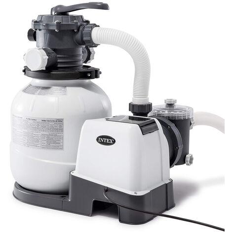 Pompa filtro sabbia Intex 26644 ex 28644 universale piscine fuori terra 4500 lt/hr