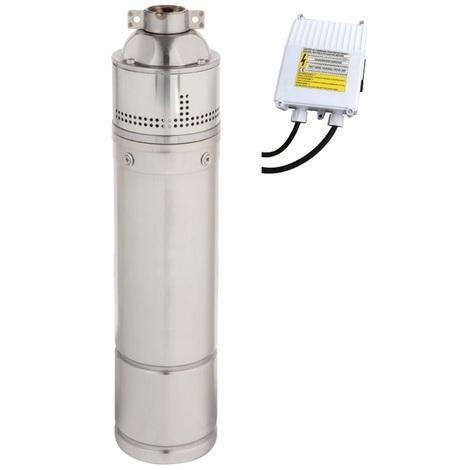 """Pompa Sommersa 4 /"""" HP 1,5 Elettropompa Periferica acciaio inox 1100W autoclave"""