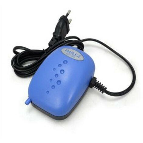 Pompe à air 120L/h 1 sortie - Aco 2203 - Hailea pour aquarium,bulleur,reservoir,cuves