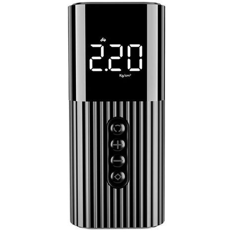 Pompe A Air Electrique Portative De 12V 70Psi, Pompe A Air De Surveillance De Pression De Pneu Numerique