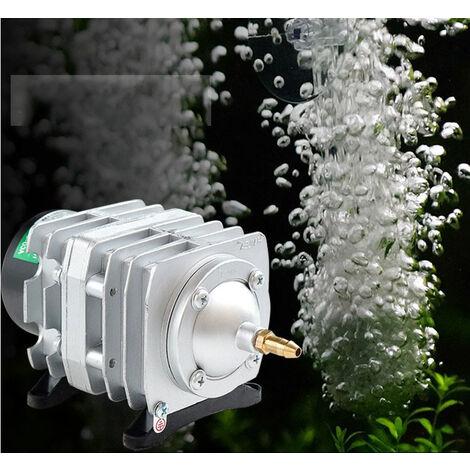 Pompe à air électromagnétique compresseur d'air aquarium pompe à air aquarium 25W