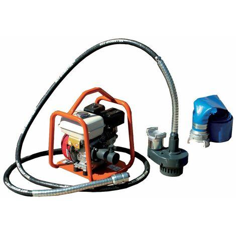 Pompe à câble ALTRAD submersible 70 m3/h avec gaine 5 m monté sur groupe moteur BGA - B1659047C - -