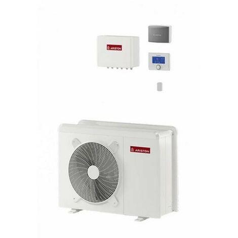 Pompe à chaleur air/eau Ariston Nimbus Pocket 50 M Net monobloc à inverter pour le chauffage et la climatisation | Blanc