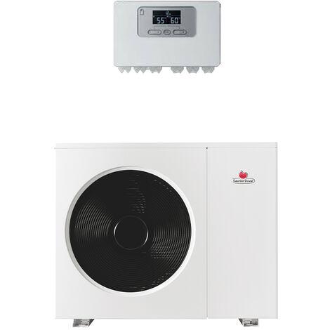 Pompe à chaleur Air / Eau monobloc avec appoint électrique Genia Air Saunier Duval 11 kW