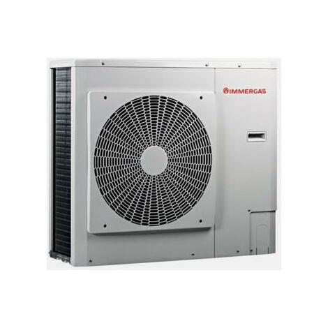 Pompe à chaleur air/eau réversible inverter monophasé Immergas Audax 8 | Blanc