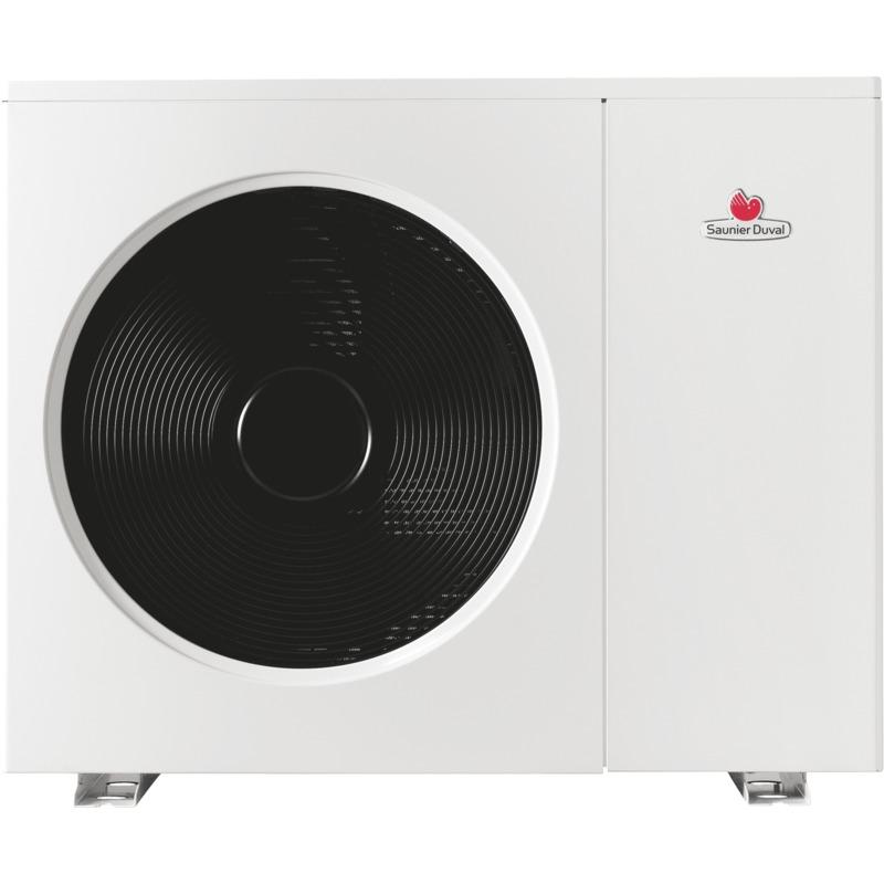 Pompe a chaleur air eau saunier duval genia air 15 - Pompe a chaleur monobloc interieur ...