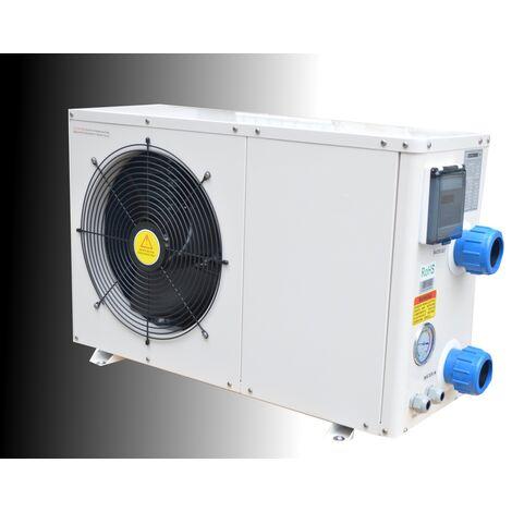 Pompe à chaleur de piscine 30 m3 réversible R410