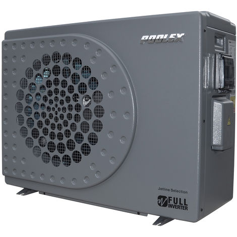 Pompe à chaleur Jetline Selection Full Inverter modèle 155 - Poolex - Pour bassin de 65 à 80m³