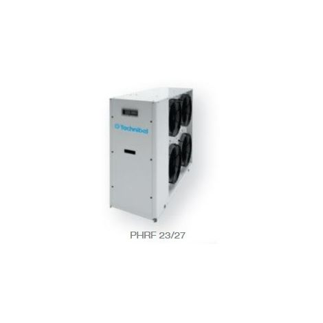 Pompe à chaleur (PAC) Air-Eau 22kW monobloc reversible exterieure 400V ON/OFF R410A 1300x1565x600mm AQUASET-T TECHNIBEL PHR237F