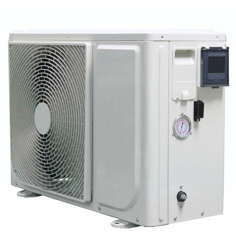 Pompe à chaleur piscine pacfirst new eco 3.3 kw wifi monophasé pour piscines jusqu'à 20 m³