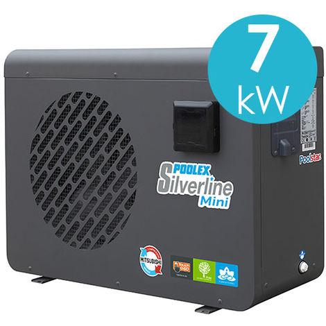 Pompe à chaleur Poolex Silverline 7 kW pour piscine.