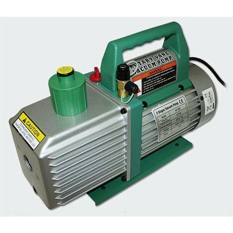 Pompe à dépression - Pompe à vide 2 phases - 224l - 8cfm / 0,3Pa systèmes frigorifiques, machines d'impression, appareils médica