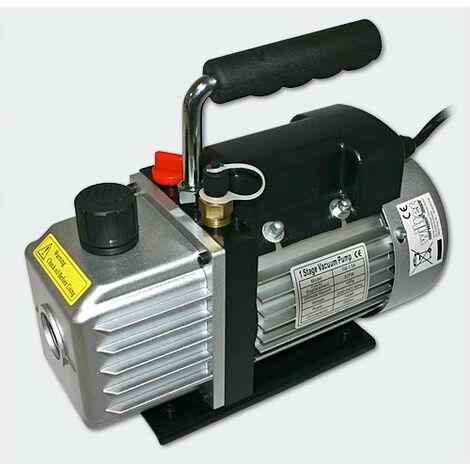 Pompe à dépression - Pompe à vide 58l - 2cfm / 10Pa systèmes frigorifiques, machines d'impression, appareils médicaux