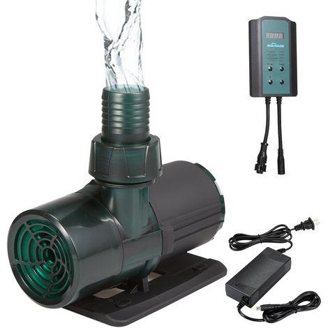 Pompe A Eau A Frequence Variable, Pompe Submersible A 3 Vitesses Reglable, 8500L / H Dc24V, Jl-8500Lr