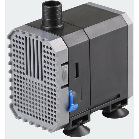 Pompe à eau de bassin filtre filtration cours d'eau eco aquarium petit étang eco 500l/h 6W - Noir