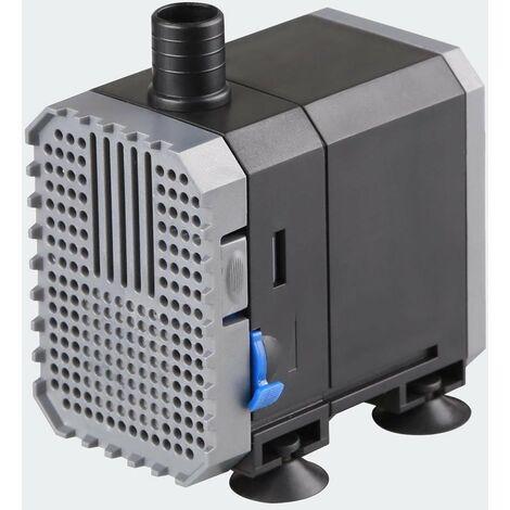 Pompe à eau de bassin filtre filtration cours d'eau eco aquarium petit étang eco 600l/h 8W - Noir