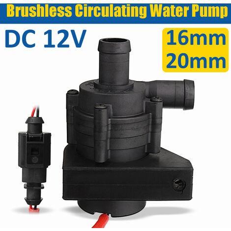 Pompe à eau de circulation sans brosse de chauffage de voiture 12V-20mm 2M / min