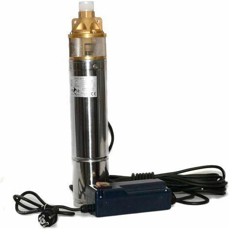 Pompe à eau de puits profond électrique submersibles bassins de jardin de forage 1100 watts
